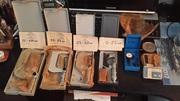 Микрометры от 0 - 100 мм и Индикатор ИРБ ОТ 0-0.8мм. и Угольник провер